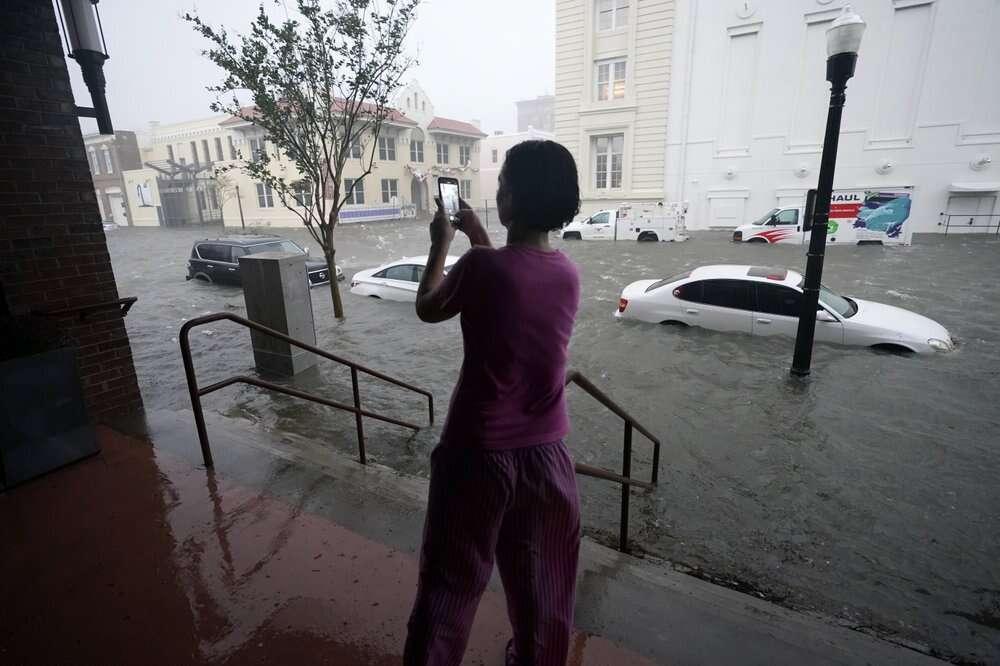 hurricane sally, historic, catastrophic rain, damage, us gulf coast