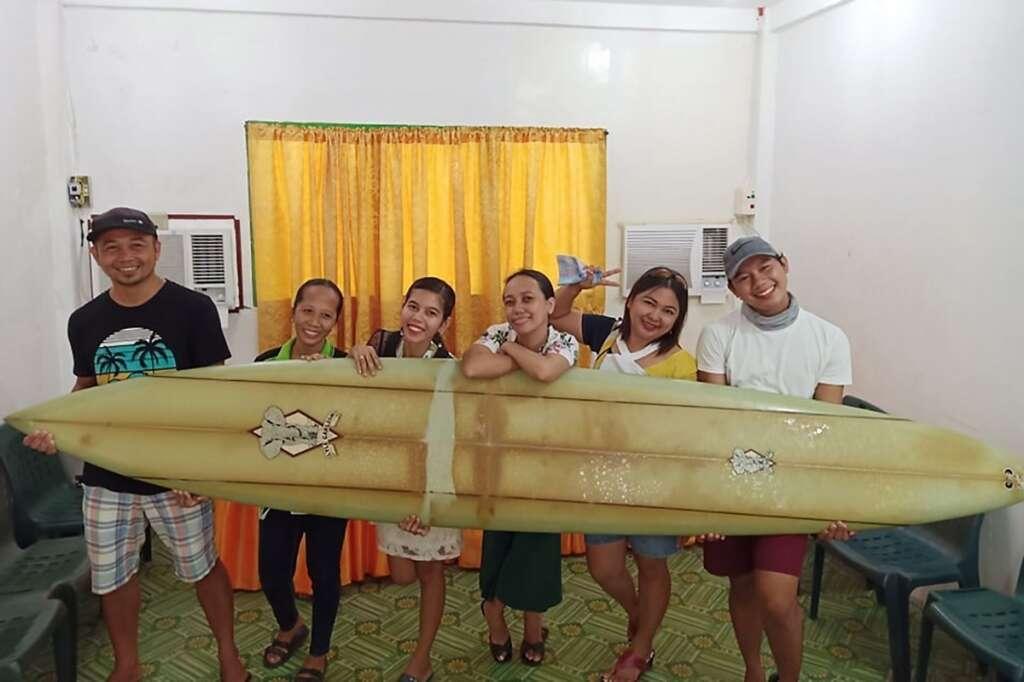 Surfboard, Hawaii, Philippines