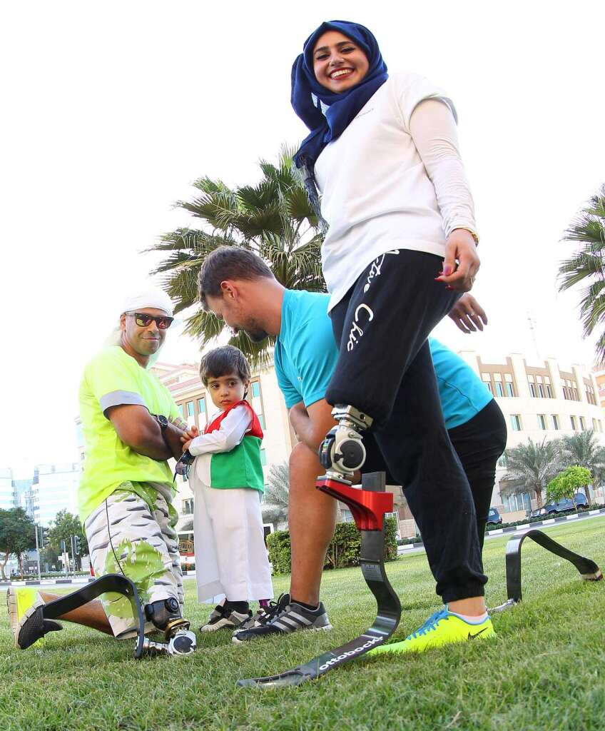 7 Emirates Run: They lost their legs but not their spirit