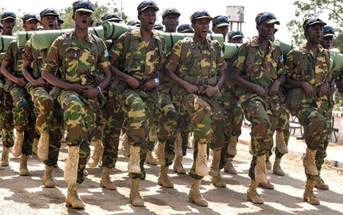 UAE-funded military training centre opened in Somalia