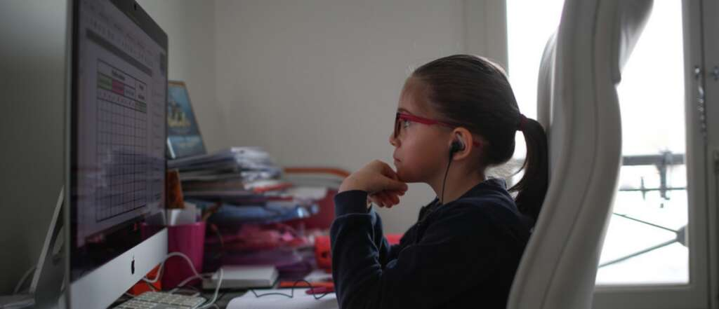 children, remote learning, Unicef