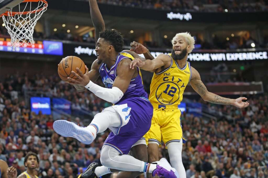 Jazz hold off late rally, beat undermanned Warriors 113-109