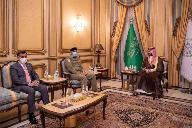 saudi arabia, Prince Khalid bin Salman, meets, Pakistan's army chief General Qamar Javed Bajwa