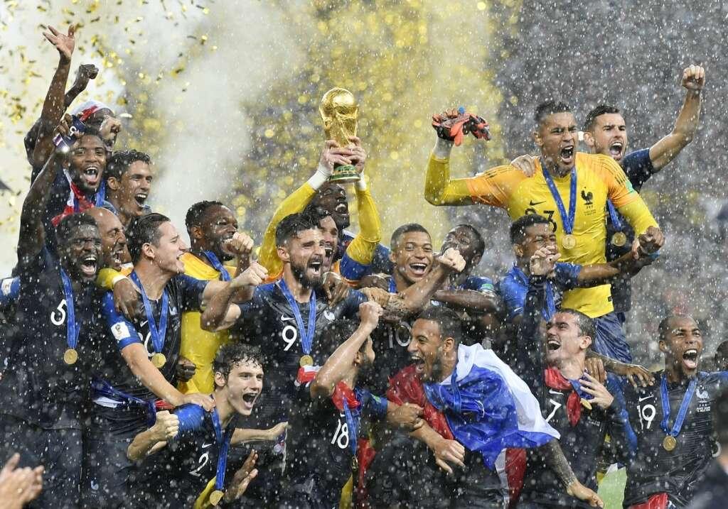 France beat Croatia, win Fifa World Cup 2018