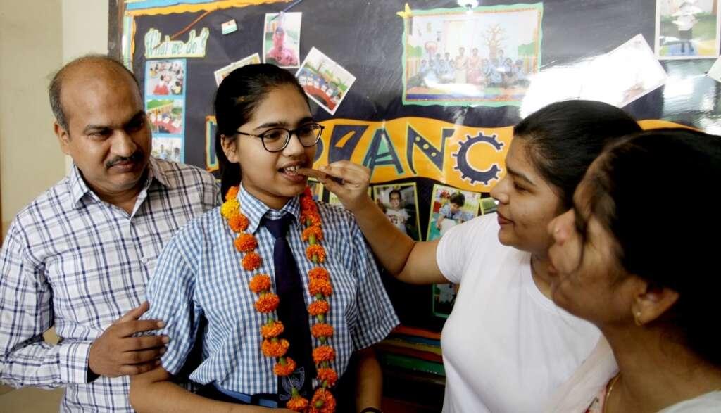 CBSE Class 12 topper, Divyanshi Jain, Navyug Radiance Senior Secondary School,