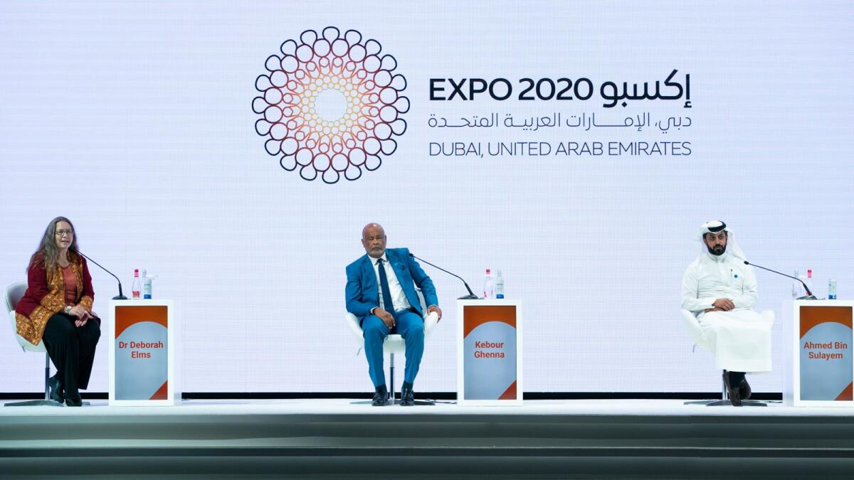 Ahmed bin Sulayem reiterated the importance of establishing comprehensive economic partnerships and benefit from Dubai's leading position a strategic trade hub connecting Africa and the region. — Supplied photo