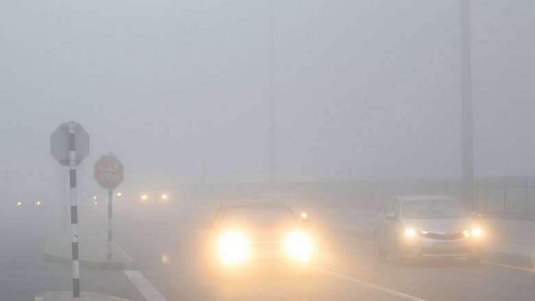 uae, weather, warning, fog, police, motorists, national center of meteorology, abu dhabi police