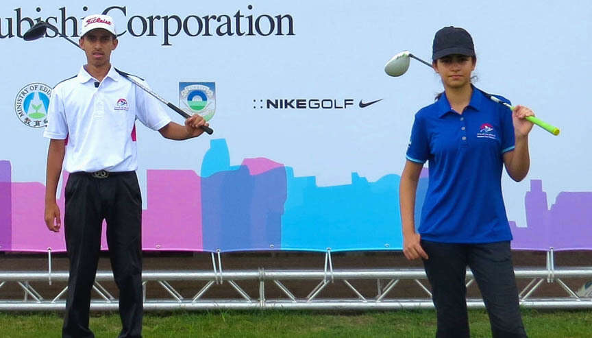 UAE golfers Mohamed, Reema all set for Asian Games challenge