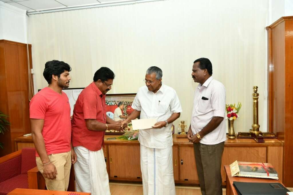 Cricketer donates 1.5m Indian rupees for Kerala flood relief fund