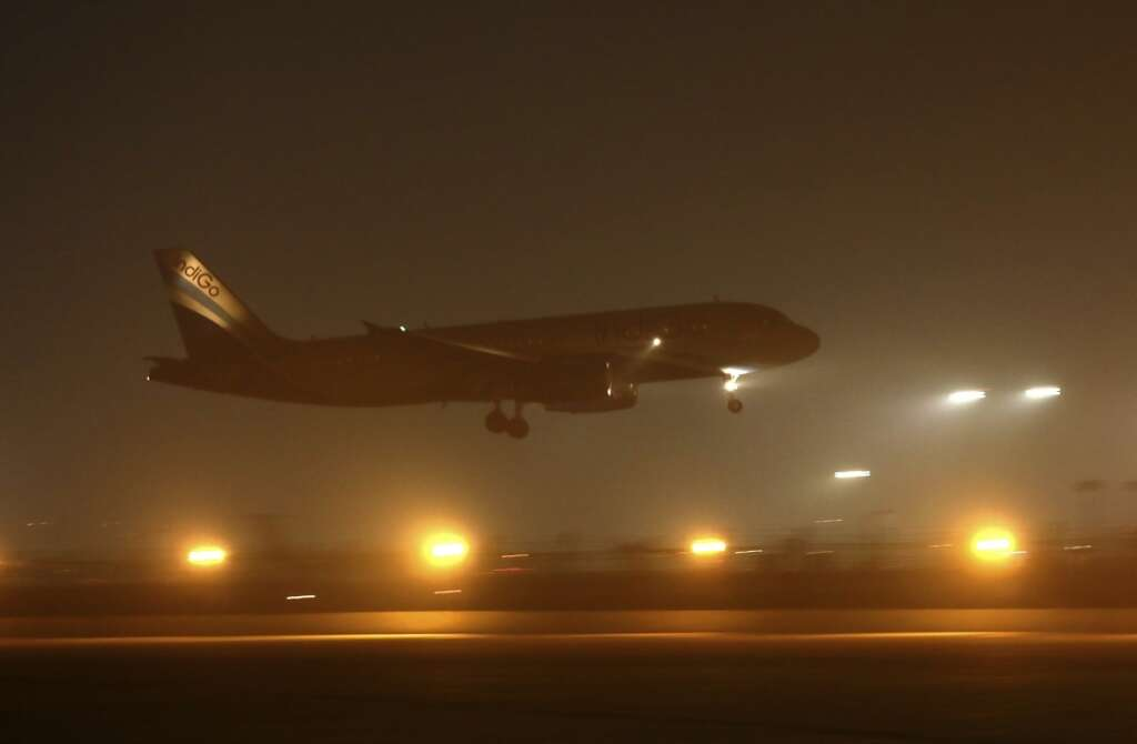 Four flights, diverted, 24 trains, delayed, low visibility, Indira Gandhi International (IGI) Airport, New Delhi