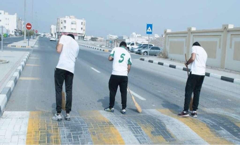 Instagram, community service, stunt driving, UAE