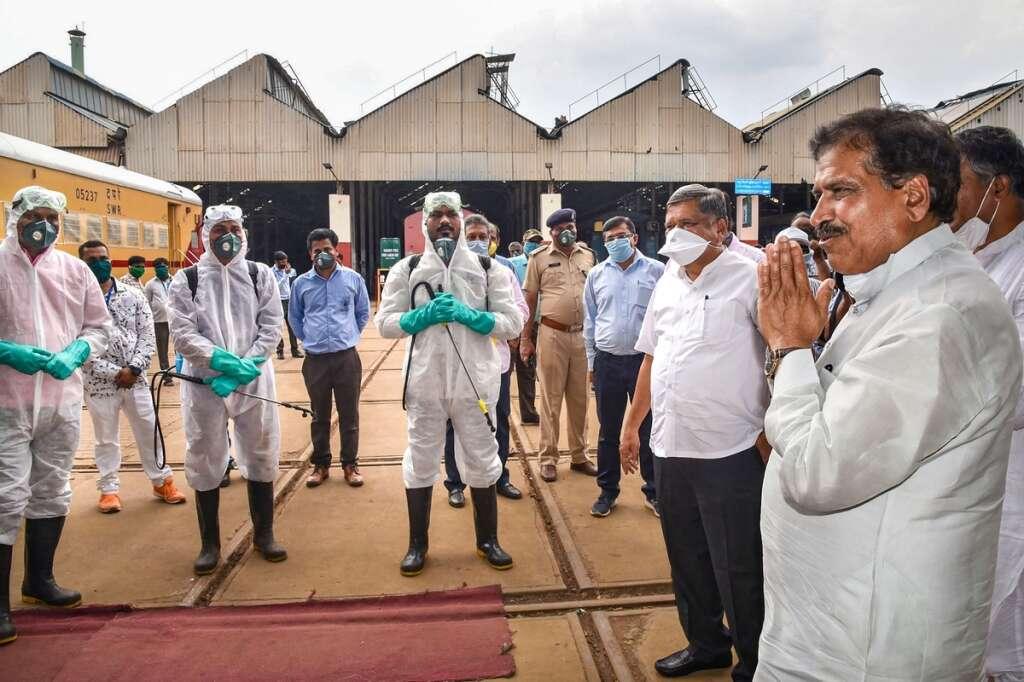 Suresh Angadi, india, railways, minister, dies, covid-19, coronavirus