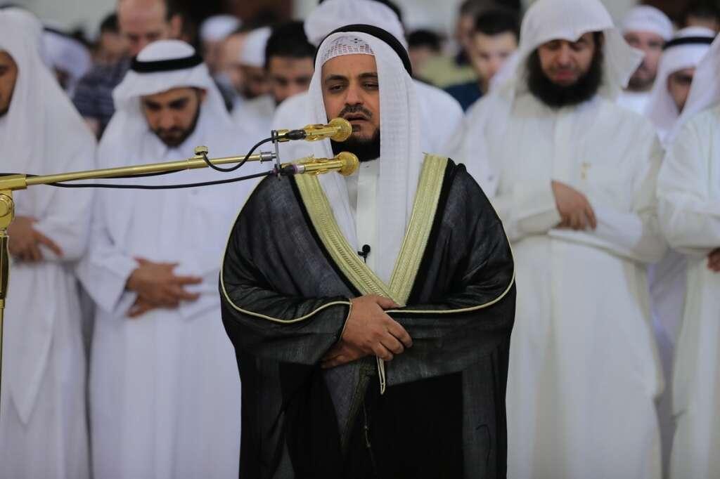 Popular Kuwaiti imam leads 12,000 worshipers for Taraweeh Prayers