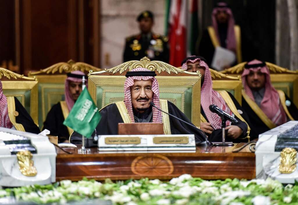 Saudi king, region, calls, Gulf Arab, unity, confront, Iran,