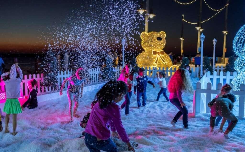 Snow Park Dubai Downtown Christmas 2021 Enjoy Snow Park At Dubai S Winter Wonderland News Khaleej Times