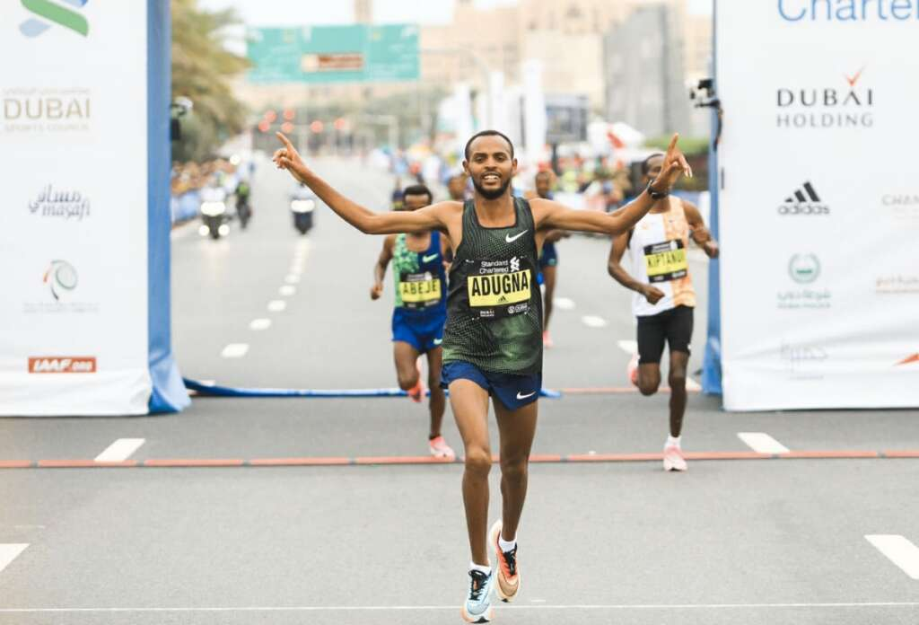 Ethiopian runners dominate at Standard Chartered Dubai Marathon 2020