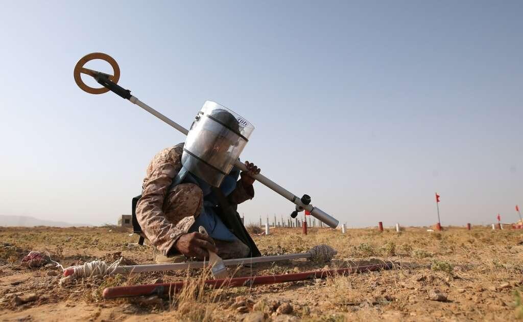 Houthi landmines wreak mayhem