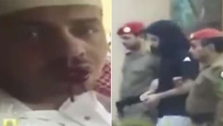 The videos have sparked anger on social media, with users identifying as Saudi citizens calling for the prince to be put on trial.