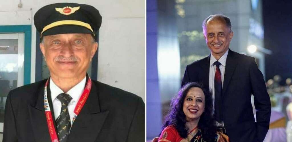 Air India Express flight, Dubai, Deepak Vasant Sathe, pilot