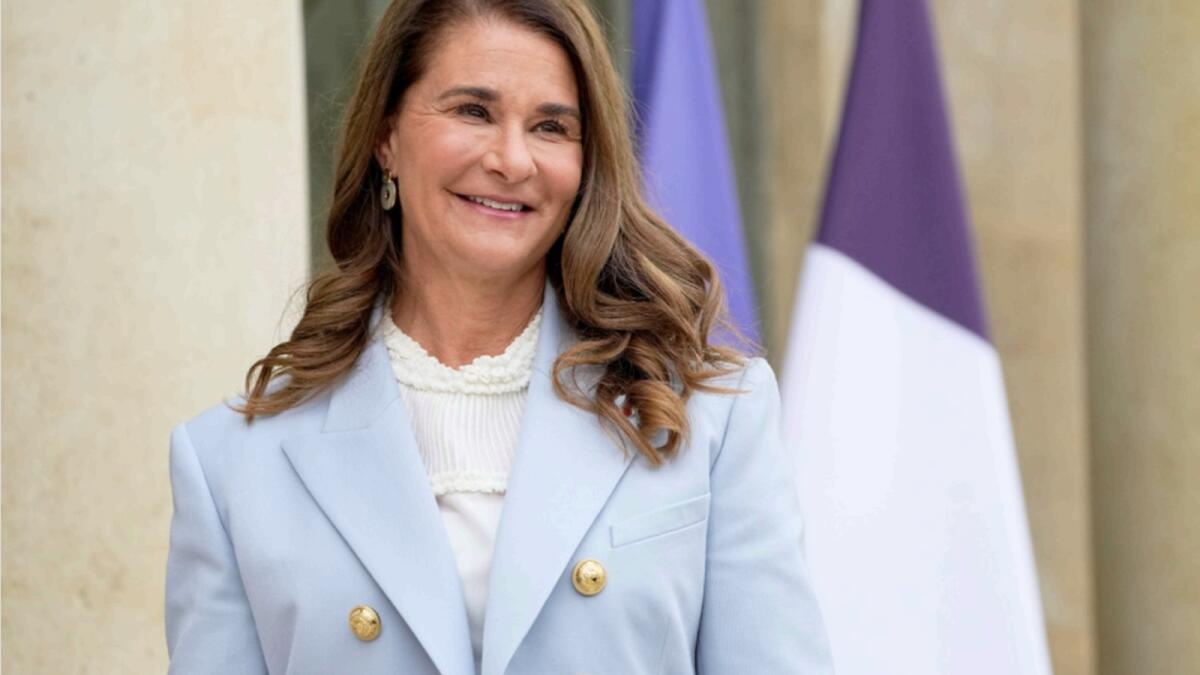 Melinda Gates, Co-Chair of the Bill and Melinda Gates Foundation. — AP file
