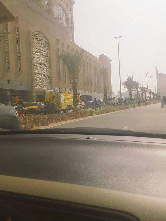 Dubai Media City high-rise fire brought under control