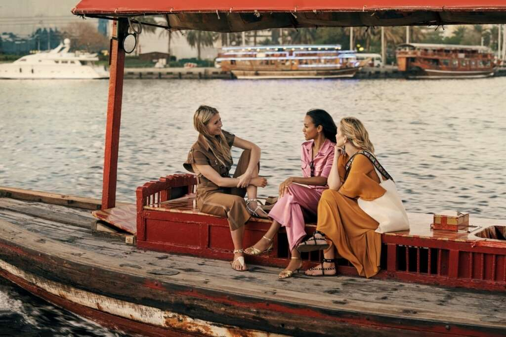 Hollywood, Dubai, Gwyneth Paltrow, Kate Hudson, Zoe Saldana