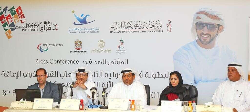 Stage set for Fazza athletics championship in Dubai