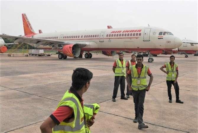 Air India on termination