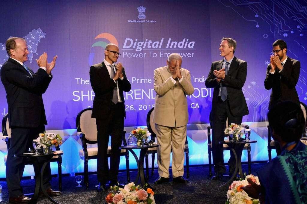 5 key decisions by US tech titans during Modis visit