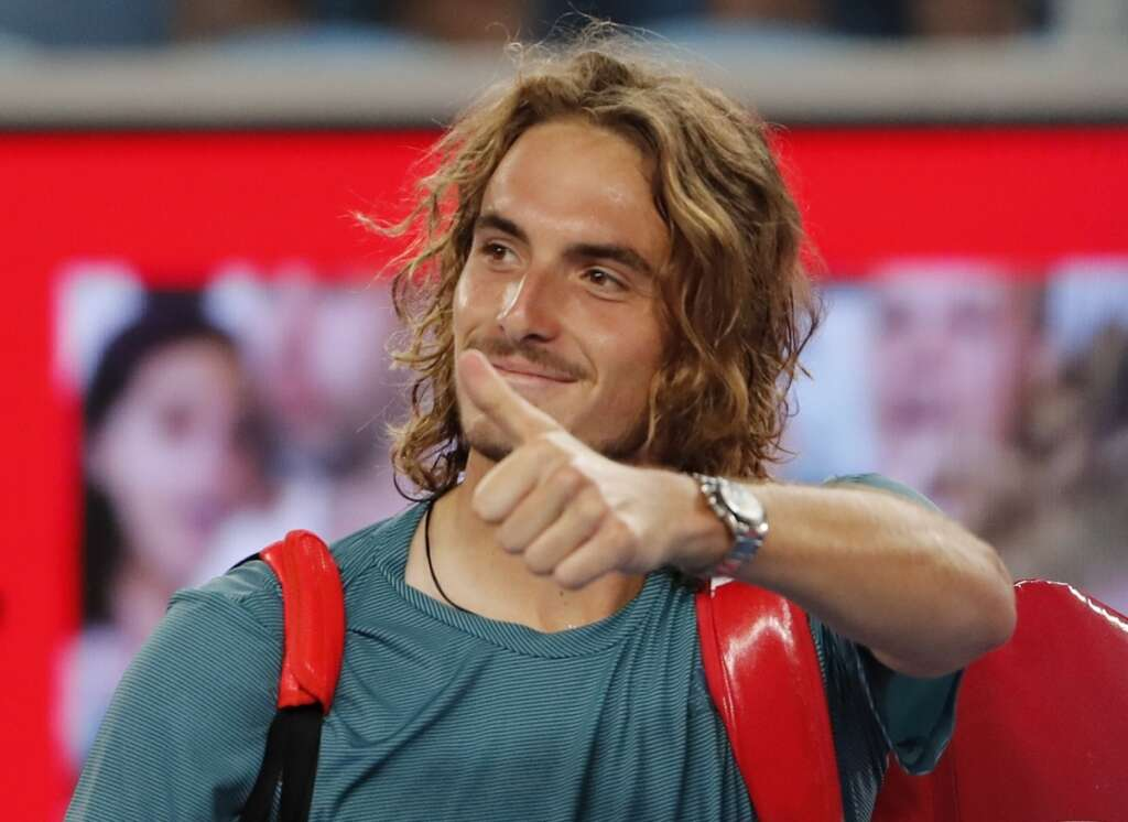 Greek sensation Tsitsipas ready for legend Federer in Australian Open