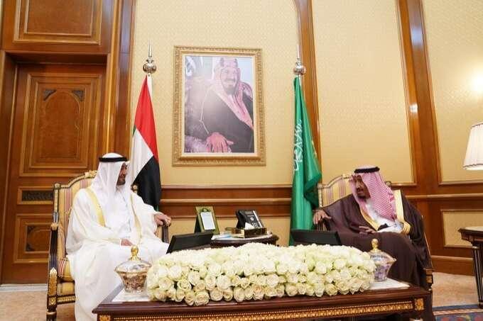 Sheikh Mohamed meets Saudi King Salman in Makkah - News | Khaleej Times