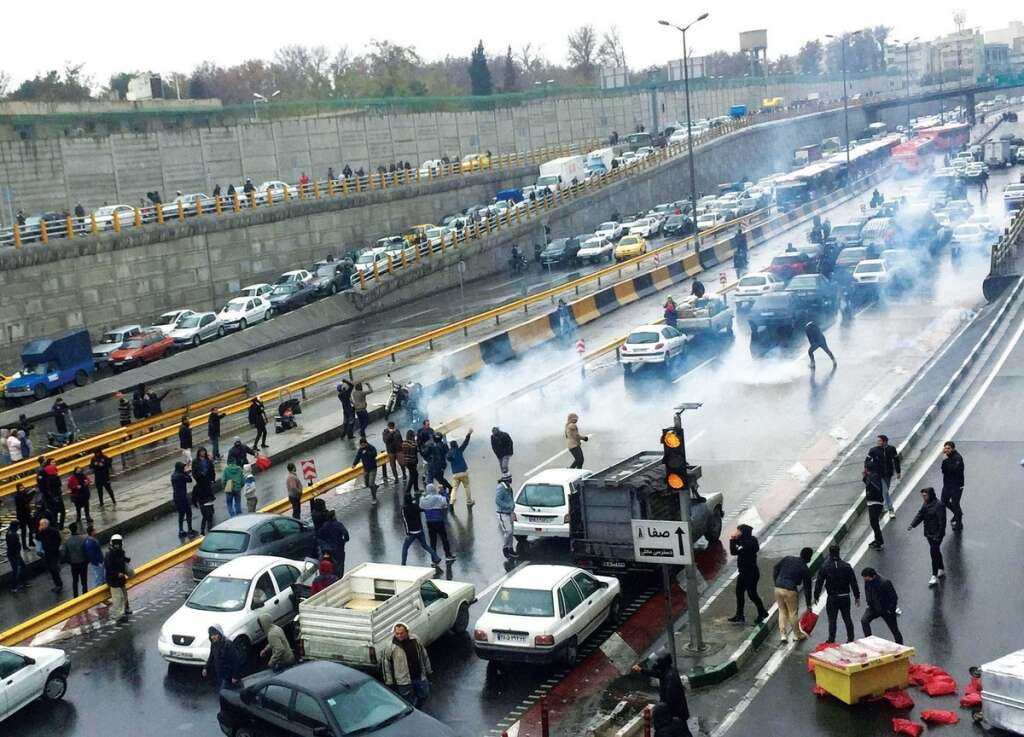 Rising, petrol prices, protests, Iran, demonstrations, Sirjan