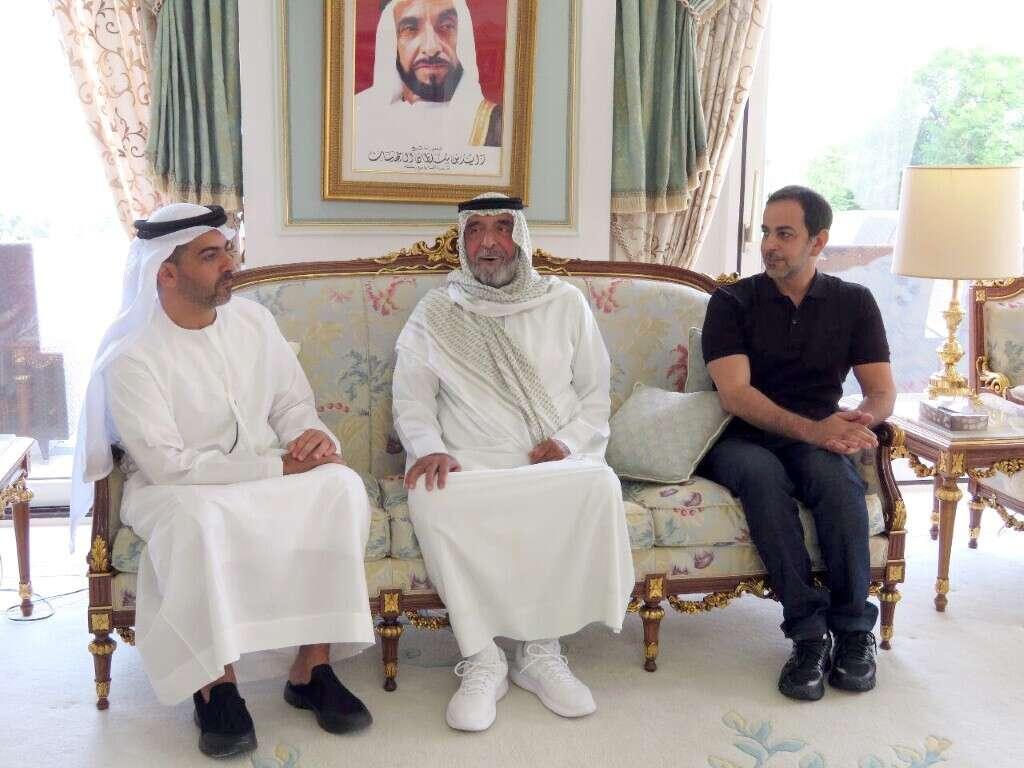 UAE President receives royals Hamed, Omar bin Zayed, Mohammed bin Khalifa in Evian