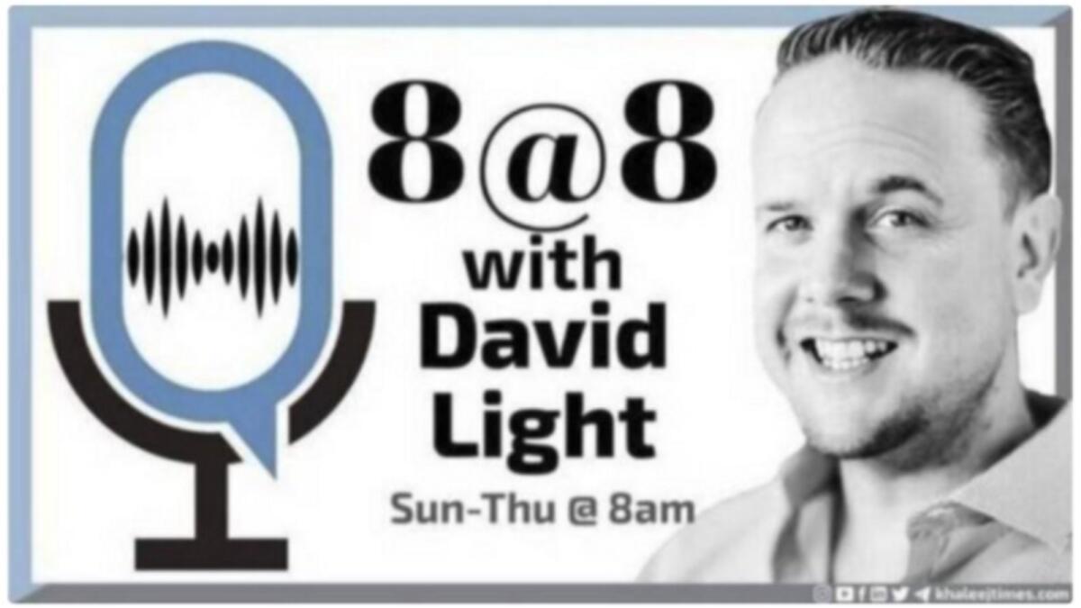 8 at 8 with David Light: Sunday, September 26