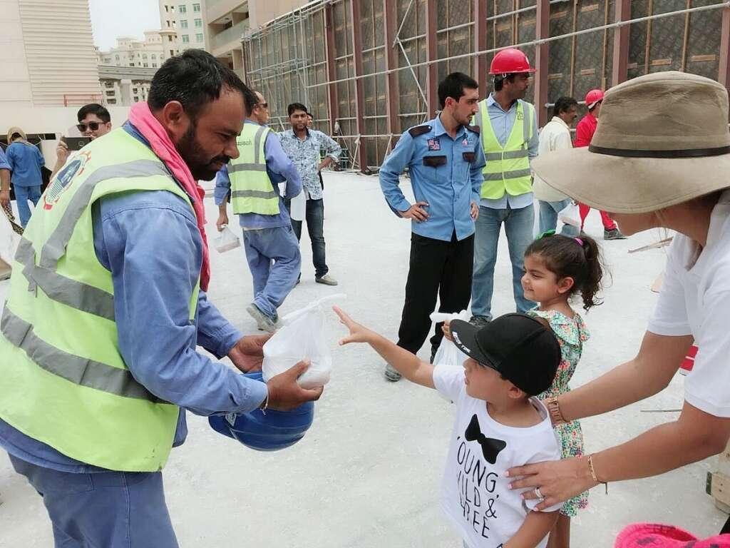 Three-year-old spends birthday donating Iftar in Dubai