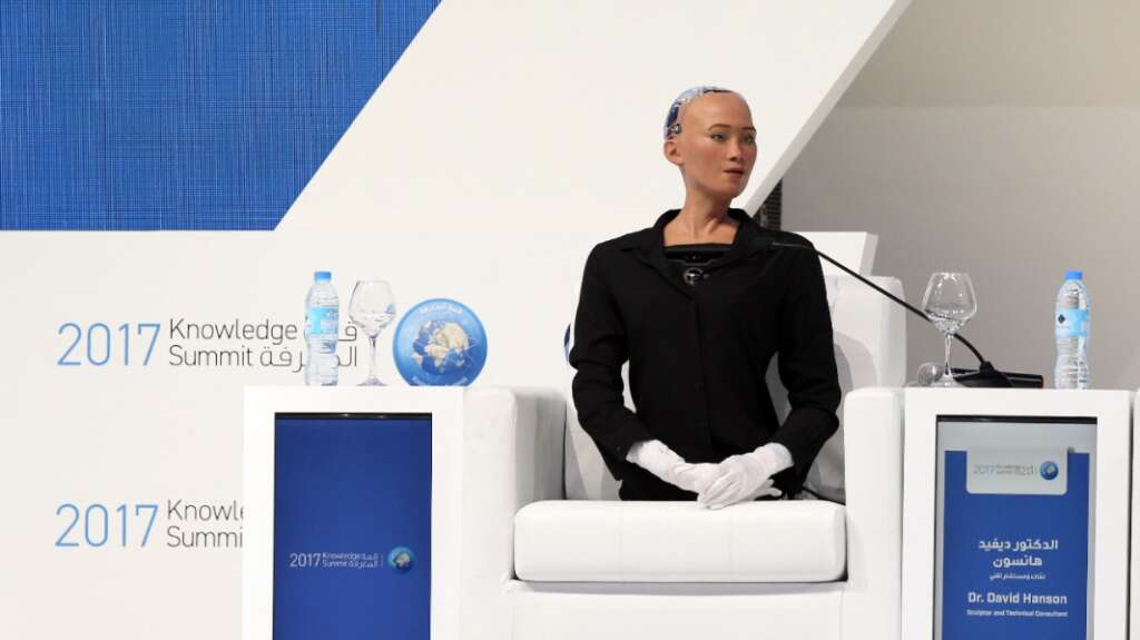 Video Sophia The Robot Wants To Start A Family Khaleej Times