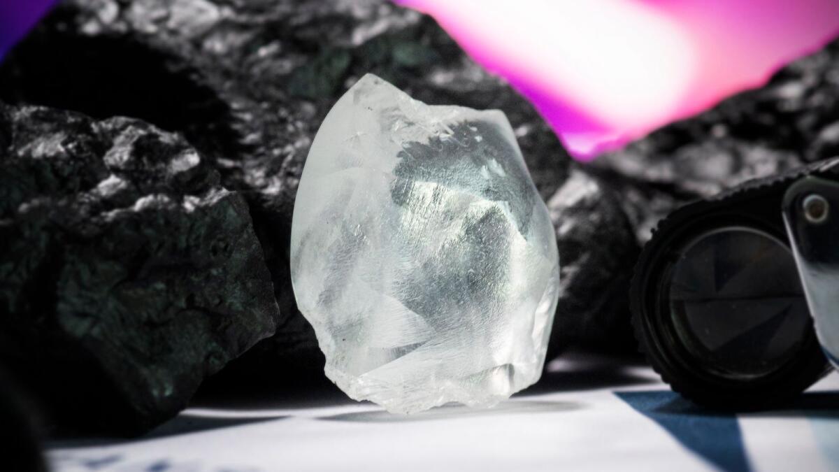 100+ carat rough diamond sold for $5.218m in Dubai