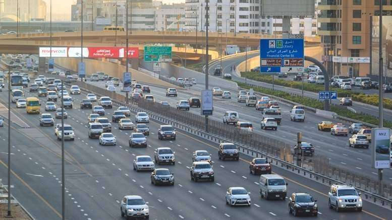 Theres one car for every two residents in Dubai