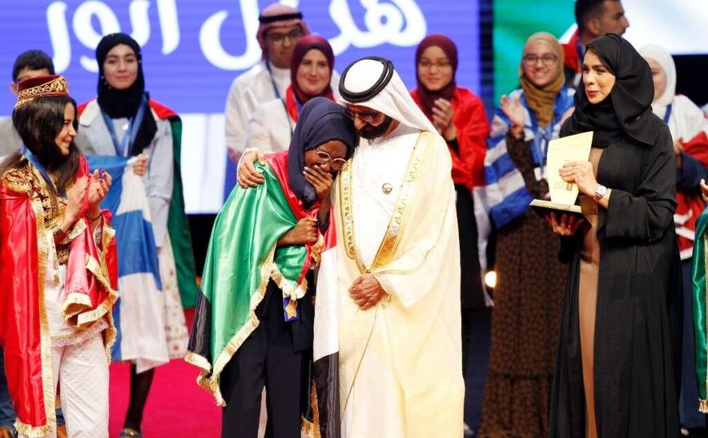 Arab Reading Challenge, Hadeel Anwar, Sheikh Mohammed