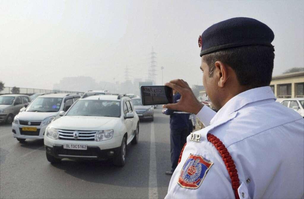 Odd even scheme, Delhi smog, air pollution