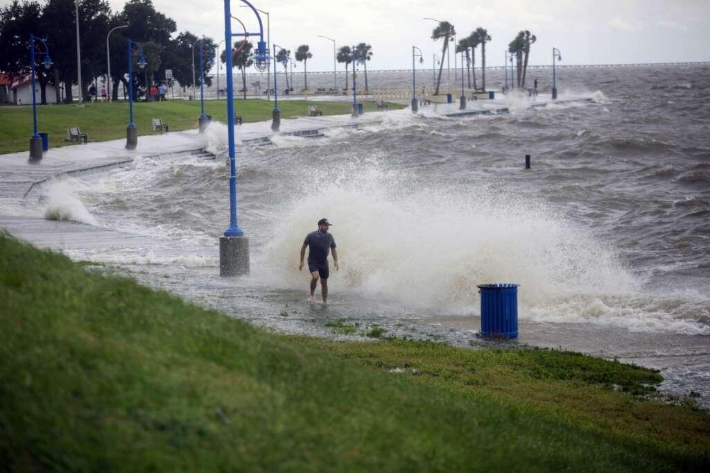 hurricane sally, us gulf coast, catastrophic, rain