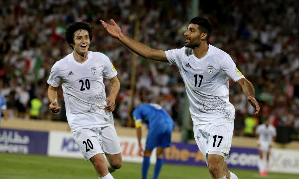 Iran become second team to qualify for World Cup