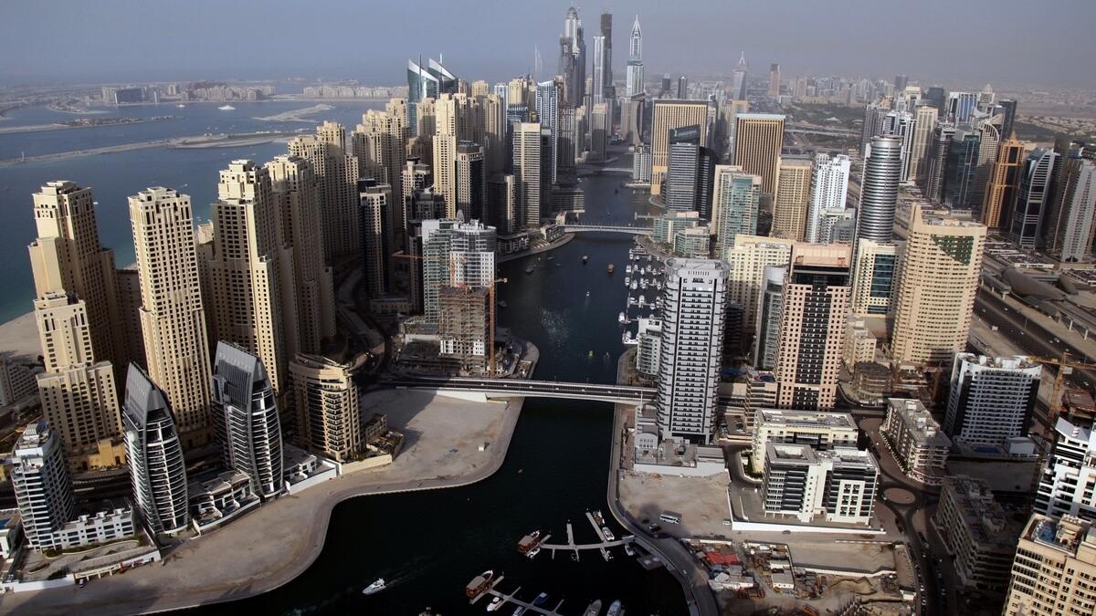 Dubai property edges to end of a correction phase