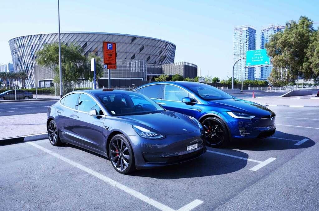 rta parking, dubai, electric vehicles, parking exemption