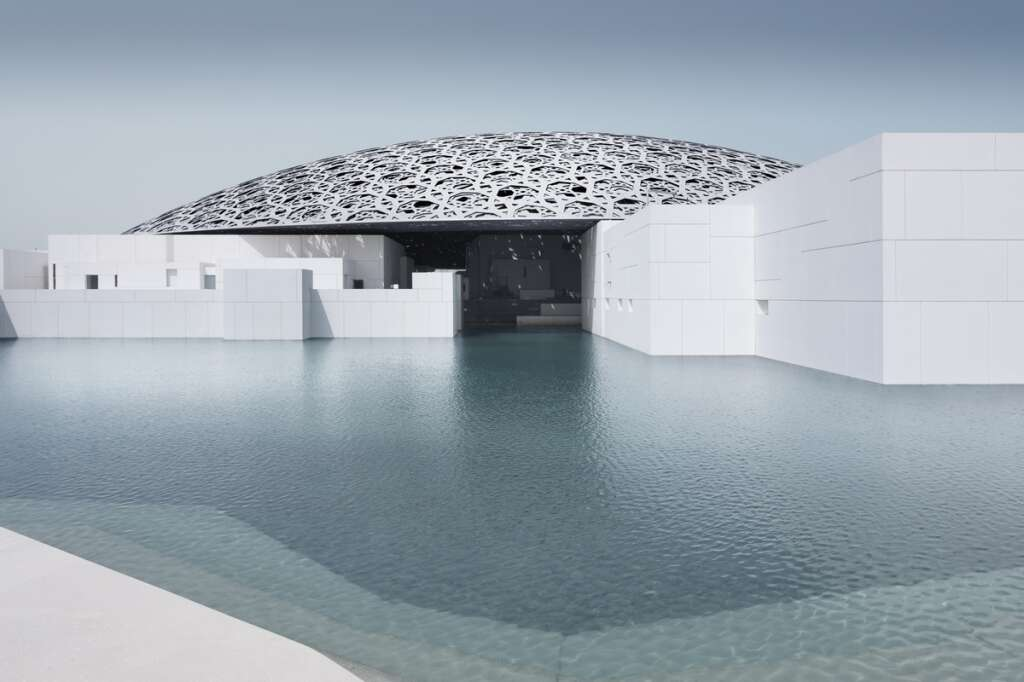 Have you been to the Louvre Abu Dhabi  yet?