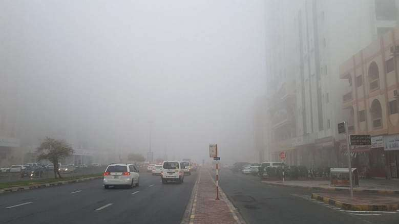 Slow traffic, accidents in Dubai as fog takes over UAE