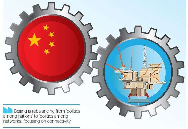 Chinas Middle East vision backs talks, not proxy