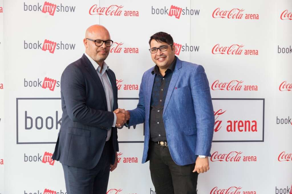 Coca-Cola Arena and BookMyShow sign partnership