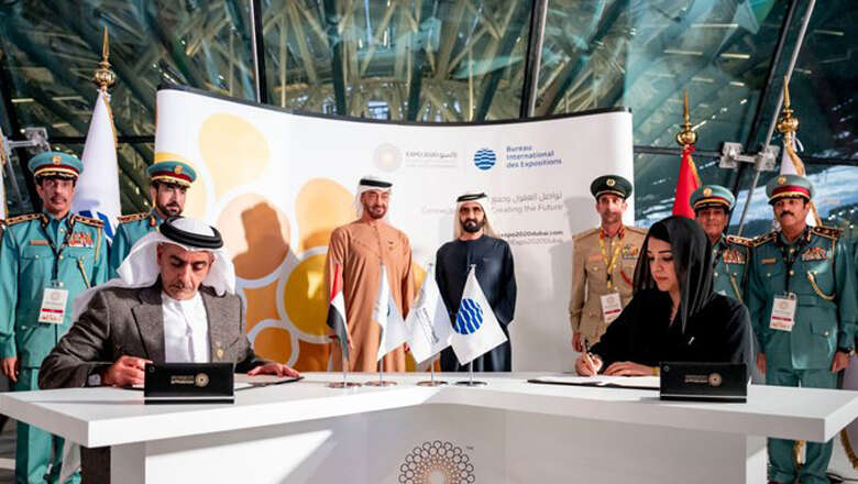 uae leaders, sheikh mohammed, expo 2020, dubai, expo, agreements