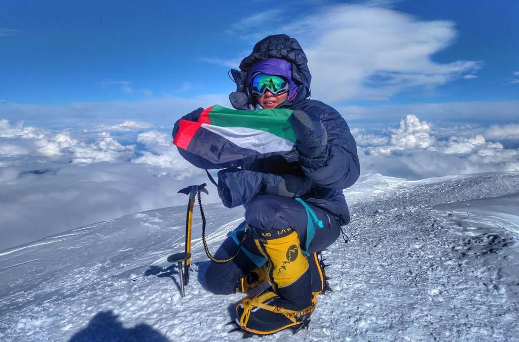 First Emirati woman who climbed Denali now targets Vinson Massif